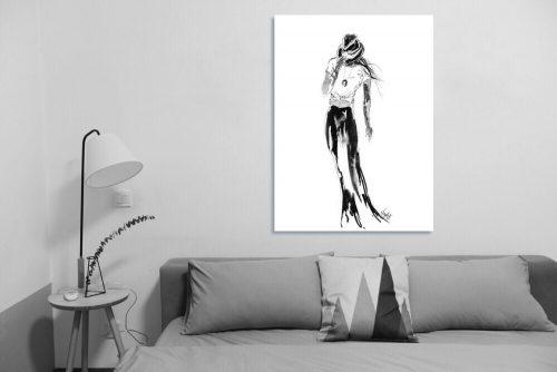 'Bobbie' - Large Canvas
