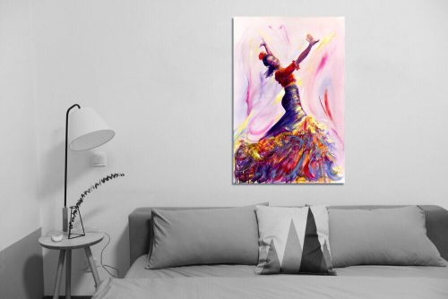 'Danza de la Passione' - Large Canvas