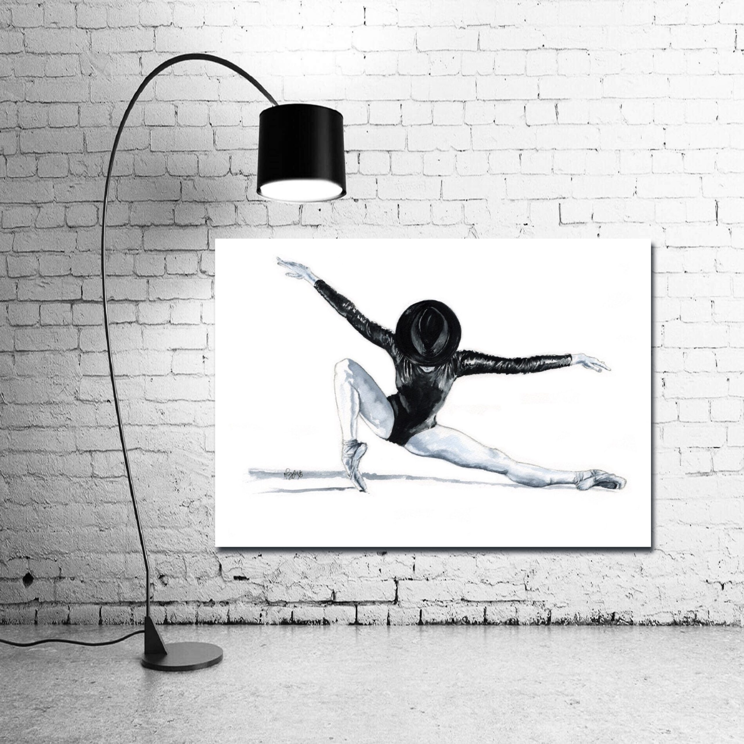 'All That Jazz' - Large Wall Canvas