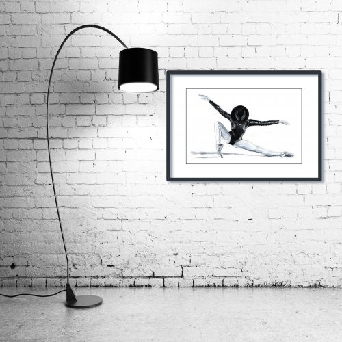 'All That Jazz' - Wall Art with Lamp