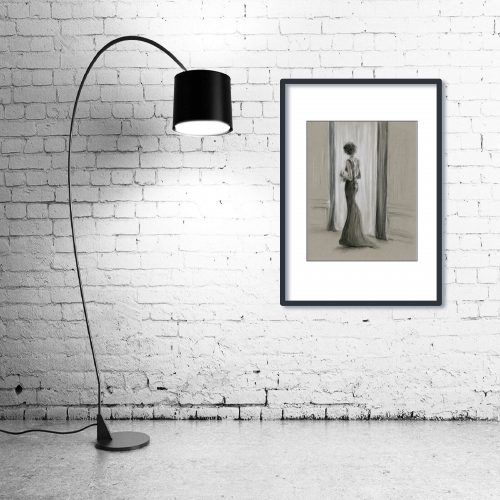 'The Kiss of The Sun' - Wall Art with Lamp