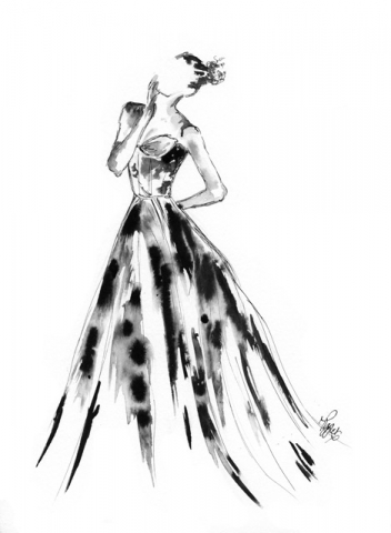 Fashion Ink Illustration 2