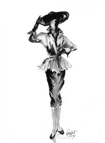 Fashion Ink Illustration 3