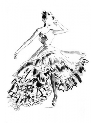 Fashion Ink Illustration 4