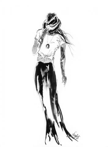 Fashion Ink Illustration 5