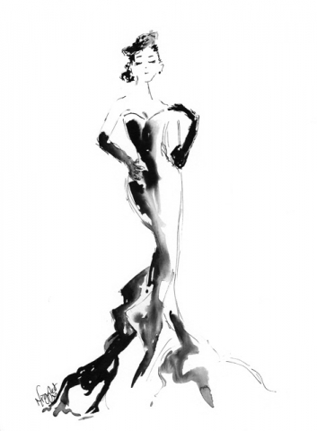 Fashion Ink Illustration 6
