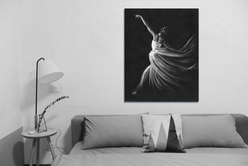 'Free Spirit' - Large Canvas