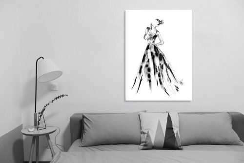 'Eleanor' - Large Canvas
