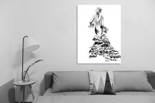 'Rose' - Large Canvas