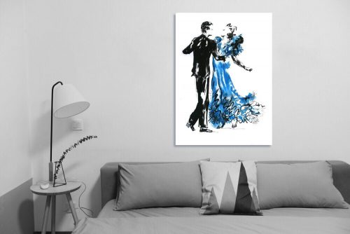 'Shall We Dance?' - Large Canvas