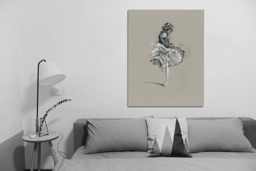 'Sofia' - Large Canvas