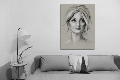 'Soulful' - Large Canvas