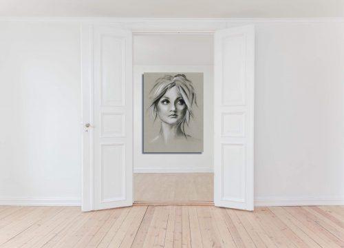 'Soulful' - Wall Art Open Door