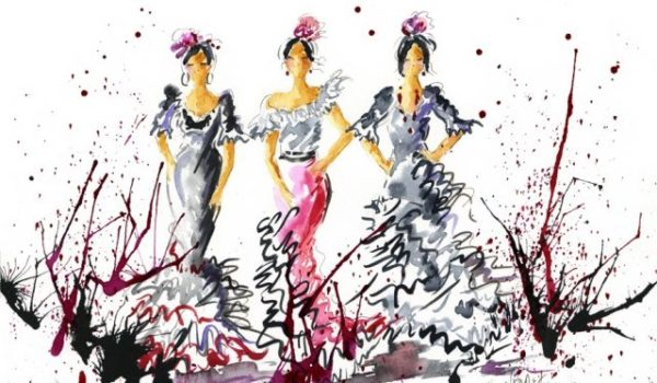 Spanish Flamenco Dancers by Migglet 3