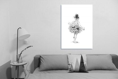 'Tiny Dancer' - Large Canvas