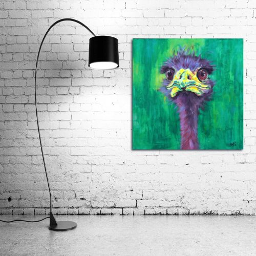 'Eric' - Wall Art with Lamp