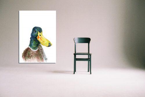 'Sir Noah Lot' - Wall Art with Chair
