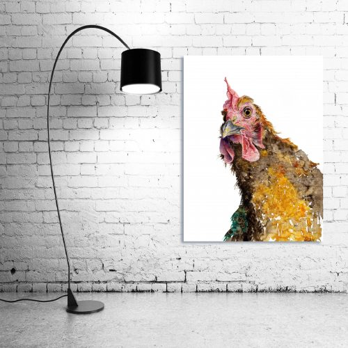 'Whaaaaat?' - Wall Art with Lamp