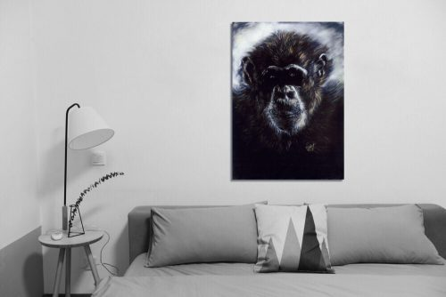 'Murphy' - Wall Art with Sofa