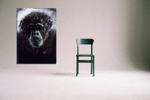 'Murphy' - Wall Art with Chair