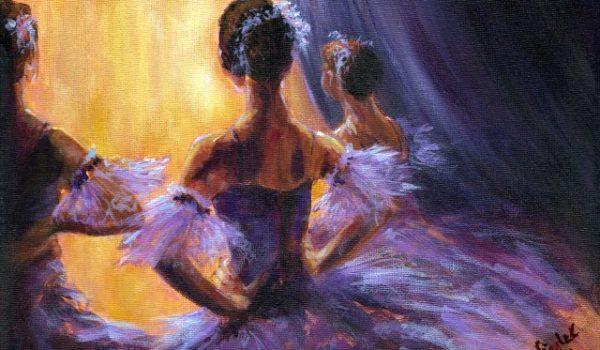 Ballerina Backstage Ballet Dancer Dancing by Migglet 1