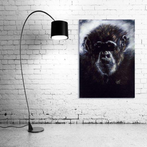 'Murphy' - Wall Art with Lamp