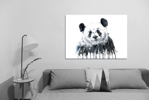 'Panda' - Wall Art with Sofa