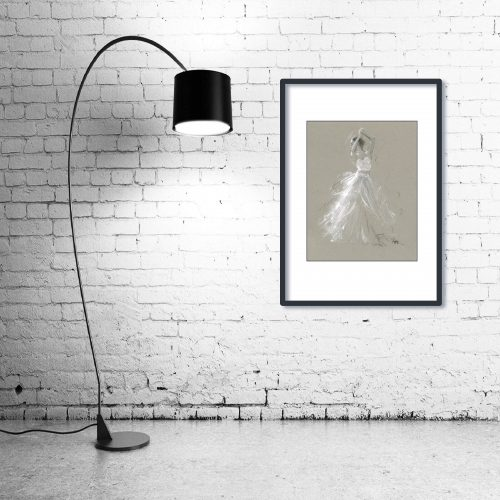 'Pure Spirit' - Wall Art with Lamp