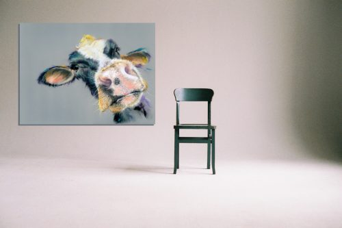 'I Heard That' - Wall Art with Chair