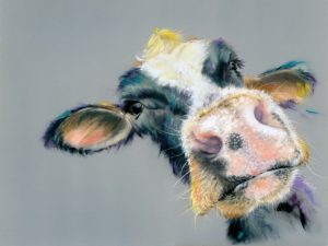 Soft Pastels -Moo Cow