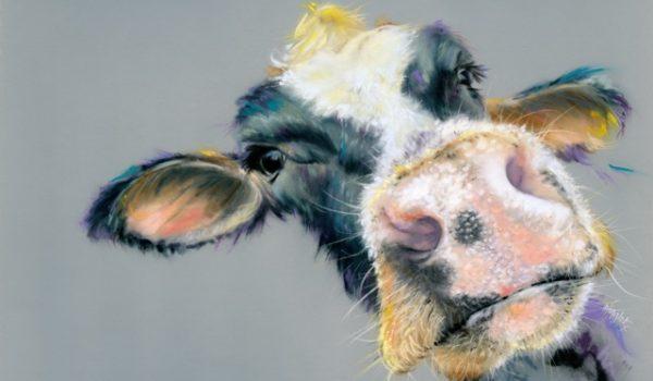 Soft Pastels -Moo Cow