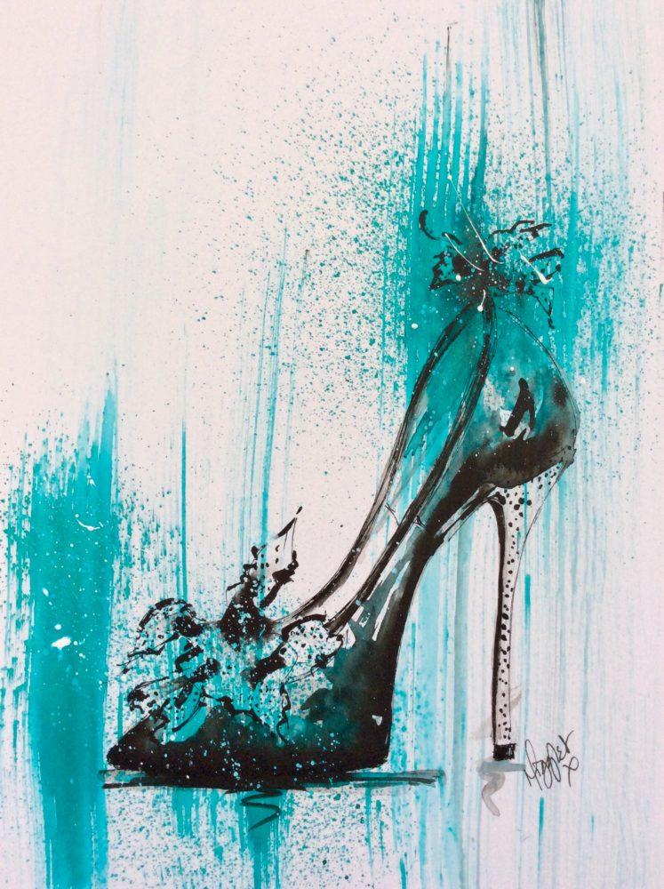 Shoes - Turquoise Stiletto