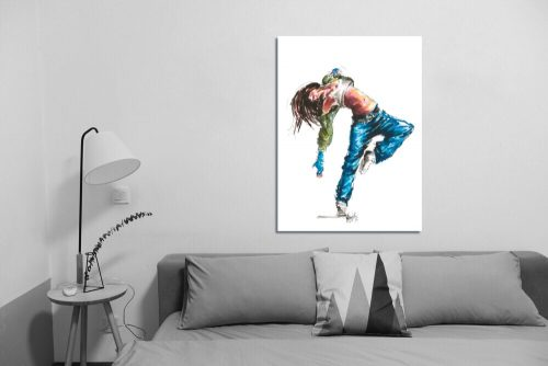 'Street Fever' - Wall Art with Sofa