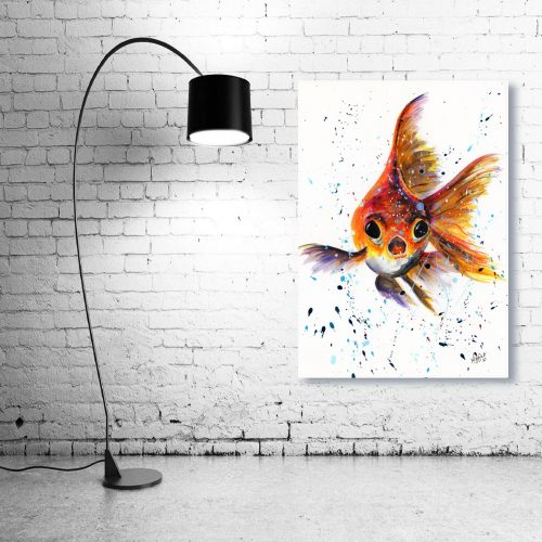 'I'm Forever Blowing Bubbles' Wall Art with Lamp