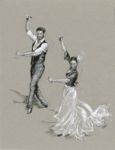 Prints for Sale in Paintings of Dancers