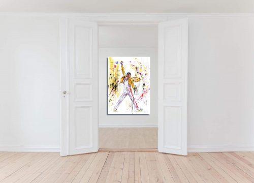 'Freddie Mercury - The Legend' - Framed print Doorway
