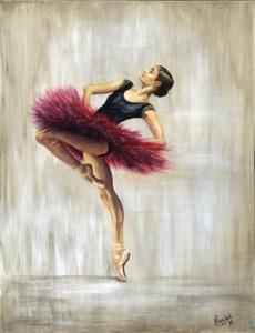 Original Paintings in Paintings of Dancers