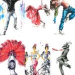 Dancers Set B