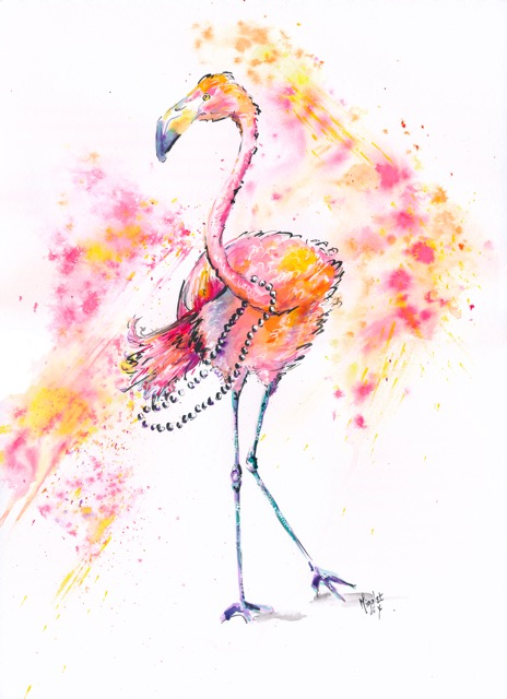 Doris-flamingo