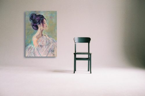 Sensuality Wall Art With Chair