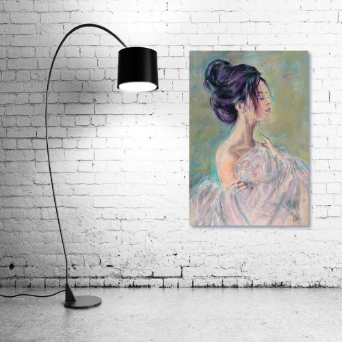 Sensuality Wall Art With Lamp