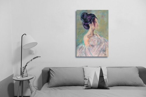 Sensuality Wall Art With Sofa