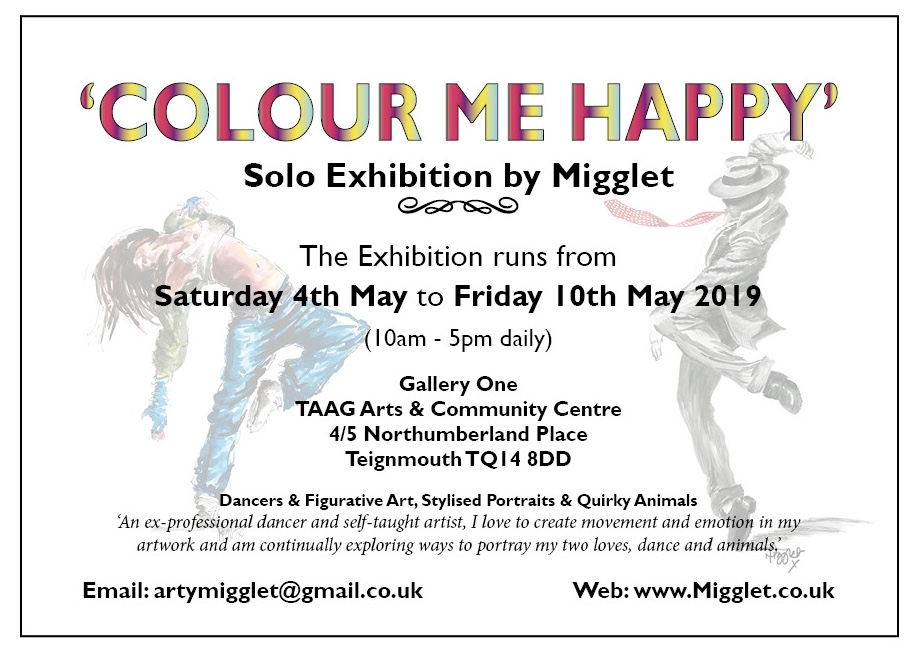 Solo Exhibition Advert