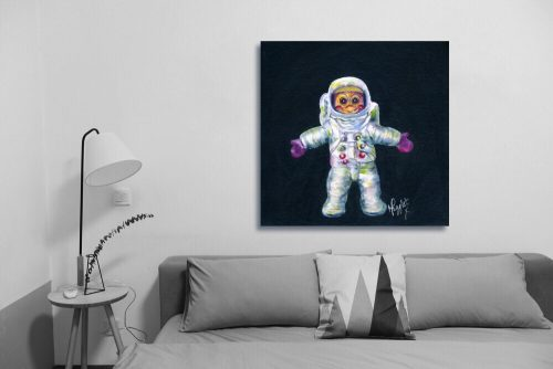 Buzz-Aldrin-Troll-Wall-Art-with-Sofa