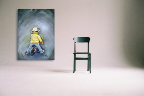 Little Ray of Sunshine Wall Art with Chair