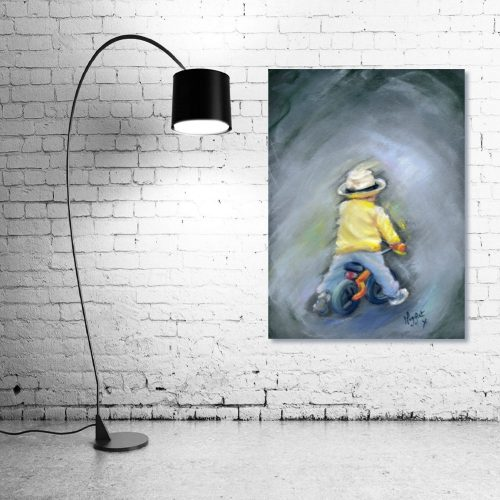 Little Ray of Sunshine Wall Art with Lamp
