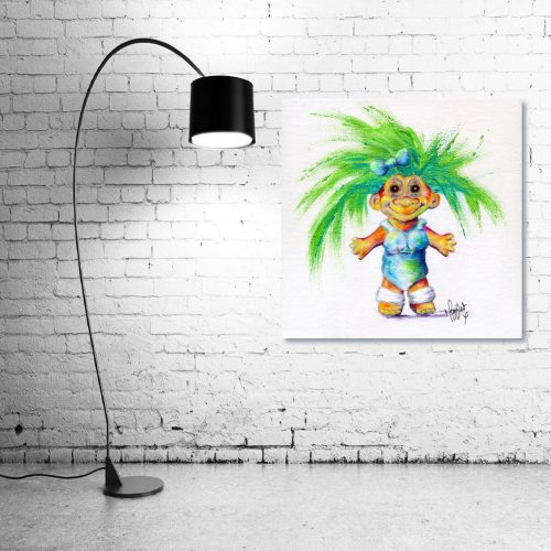 Luminous-Lil-Troll-Wall-Art-with-Lamp
