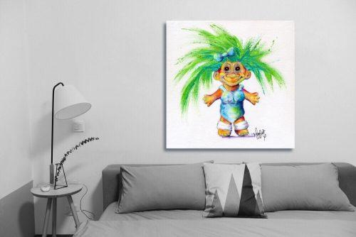 Luminous-Lil-Troll-Wall-Art-with-Sofa
