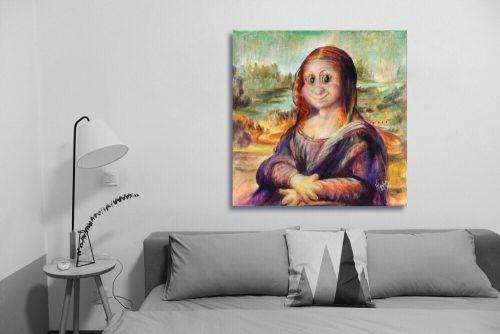 Mona-Lisa-Troll-Wall-Art-with-Sofa