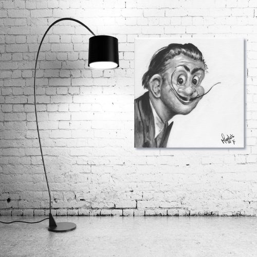 Salvador-Dali-Troll-Wall-Art-with-Lamp
